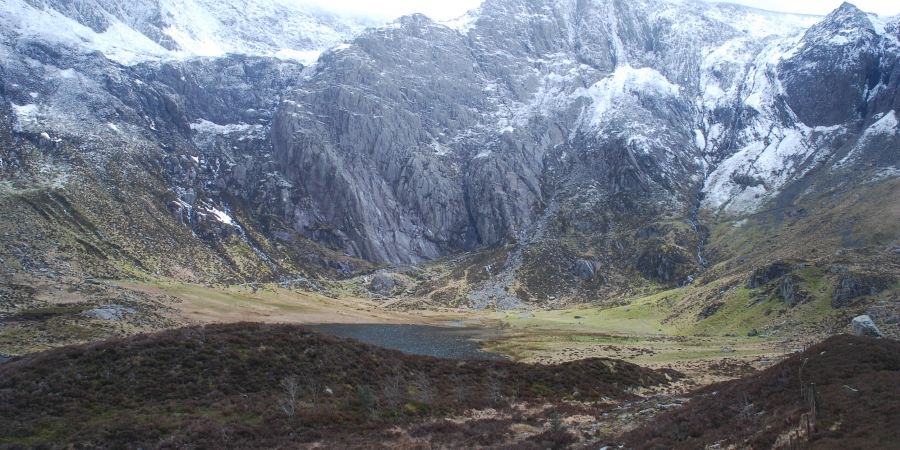 Cwm Idwal from western side