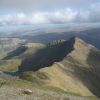 From the peak of Snowdon