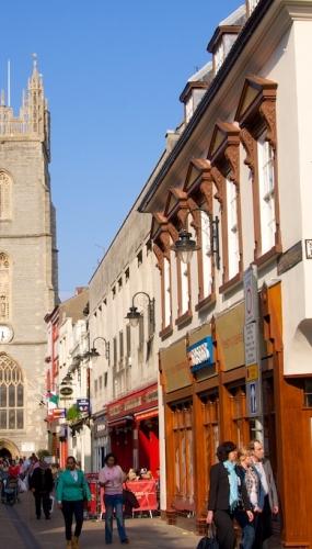 Cardiff, St John's Church, Church Street