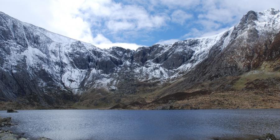 Llyn [lake] Idwal in Cwm Idwal