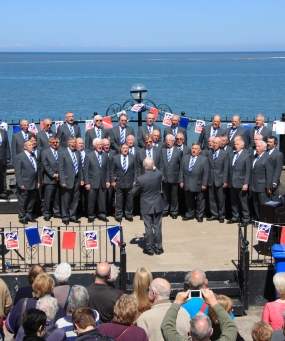 Male Voice Choir on Prom