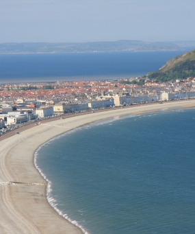Llandudno and beyond to Anglesey