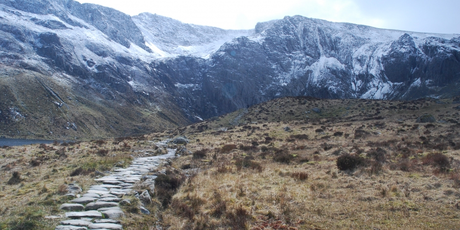 Path into Cwm Idwal